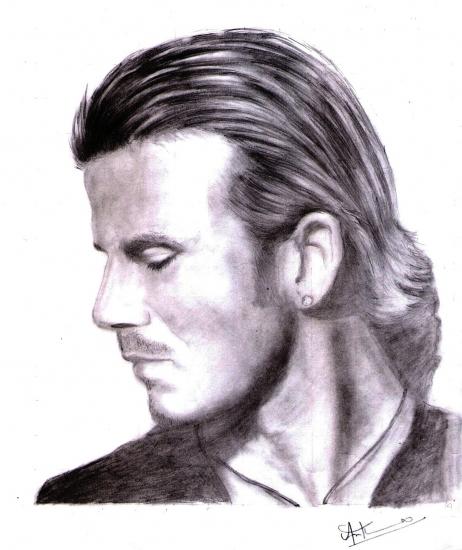 David Beckham by arunayathil